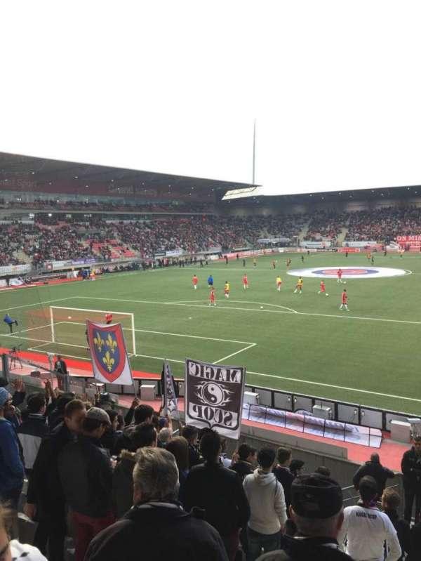 Stade Marcel-Picot, sección: Tribune Schuth, fila: Parcage, asiento: Visiteur