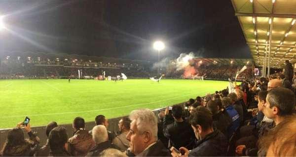 Stade Raymond Kopa, sección: St Leonard Laterale, fila: D, asiento: 191