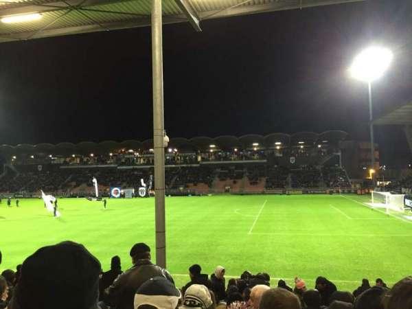 Stade Raymond Kopa, sección: St Leonard Laterale, fila: Q, asiento: 25