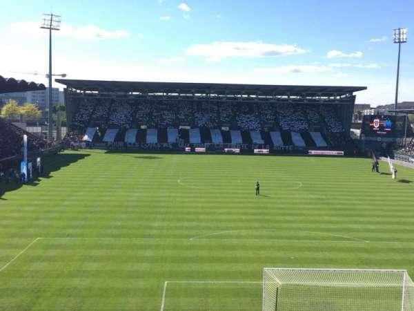 Stade Raymond Kopa, sección: Colombier, fila: Haute