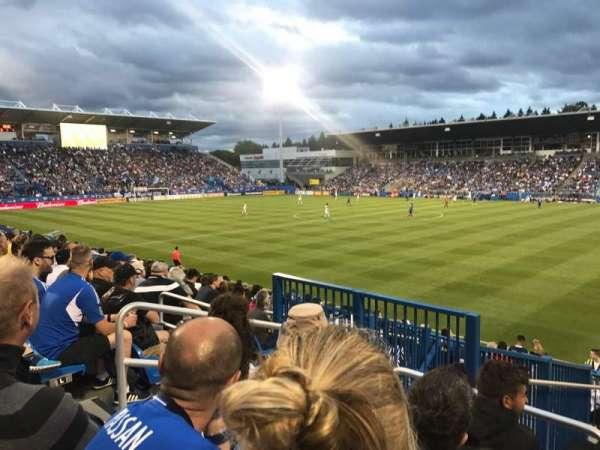 Stade Saputo, sección: Sud, fila: 120, asiento: N28