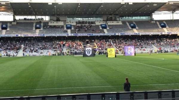 Le Stadium de Toulouse, sección: Honneur Sud, fila: 14, asiento: 225