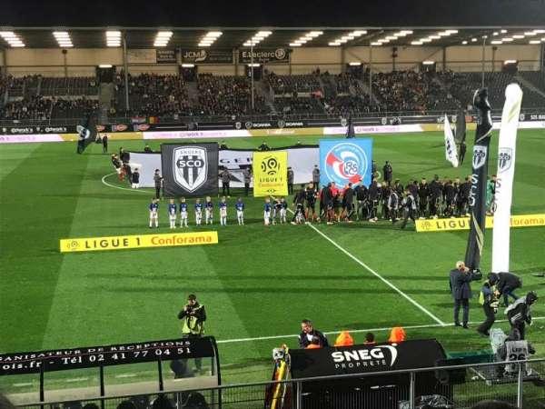 Stade Raymond Kopa, sección: Jean Bouin, fila: N, asiento: 1