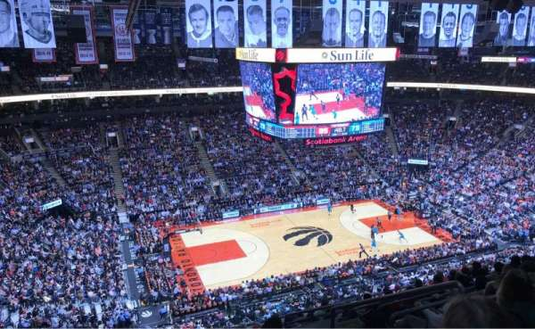 Scotiabank Arena, sección: 311, fila: 13, asiento: 4