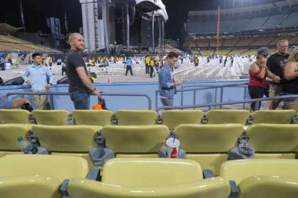 Dodger Stadium, sección: 47FD, fila: D, asiento: 5