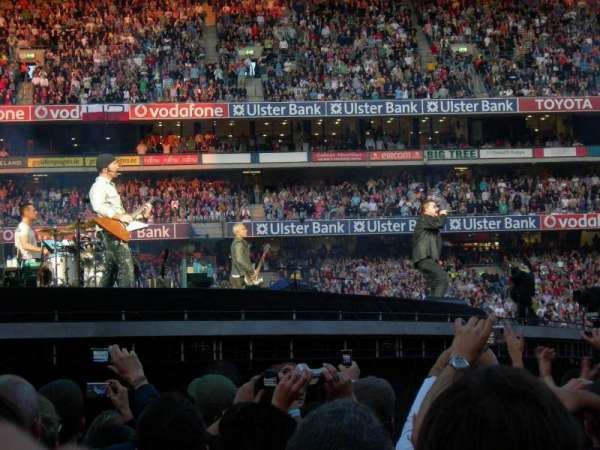 Croke Park, sección: Field, fila: Red Zone