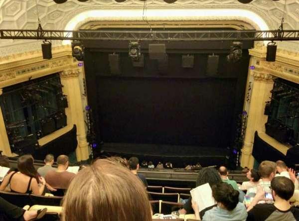 Hudson Theatre, sección: Balcony C, fila: G, asiento: 112