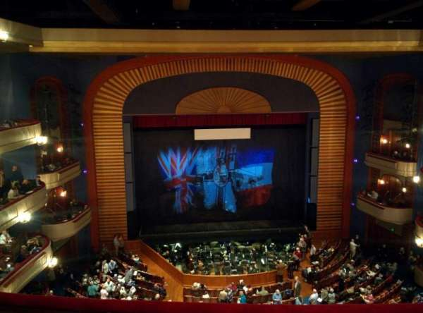 Ordway Center for the Performing Arts - Music Theater, sección: Gallery, fila: D, asiento: 207