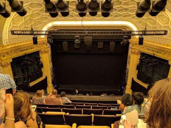 Hudson Theatre, sección: Balcony C, fila: G, asiento: 113