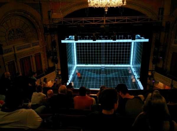 Ethel Barrymore Theatre, sección: Rear Mezzanine C, fila: F, asiento: 107