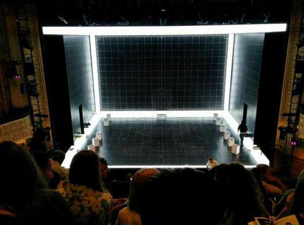 Ethel Barrymore Theatre, sección: Front Mezzanine R, fila: E, asiento: 8