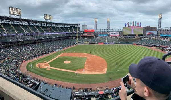Guaranteed Rate Field, sección: 524, fila: WC, asiento: 1