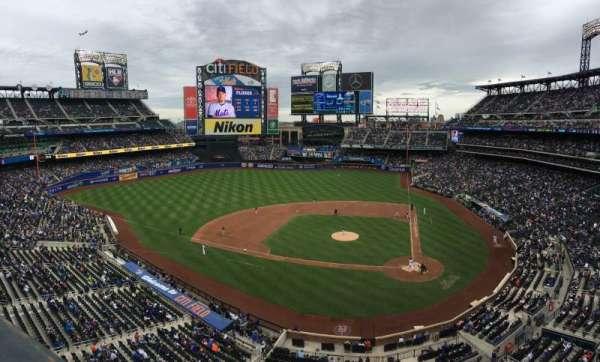 Citi Field, sección: 419, fila: 1, asiento: 10