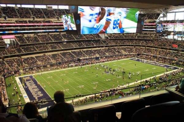 AT&T Stadium, sección: Suite 510, fila: 1, asiento: 6