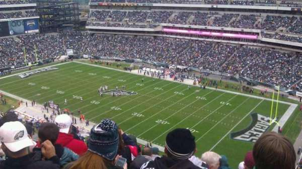 Lincoln Financial Field, sección: 230, fila: 12, asiento: 15