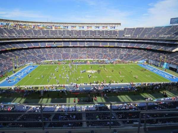 SDCCU Stadium, sección: LV35, fila: 4, asiento: 18