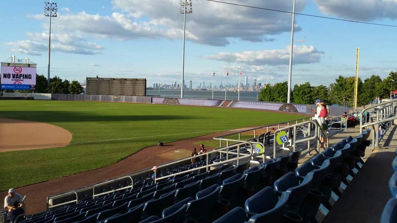 Richmond County Bank Ballpark Sección 13 Fila P Asiento 13
