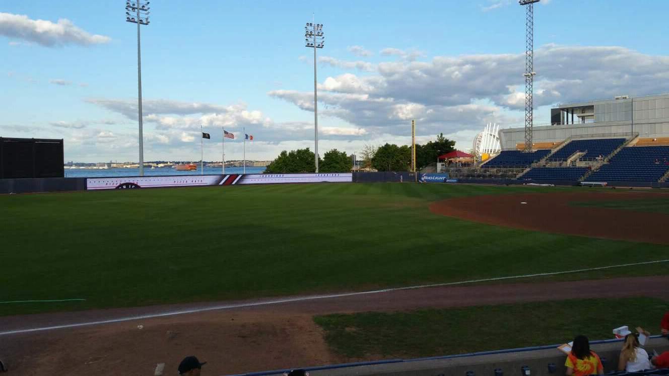 Richmond County Bank Ballpark Sección 3 Fila K Asiento 22
