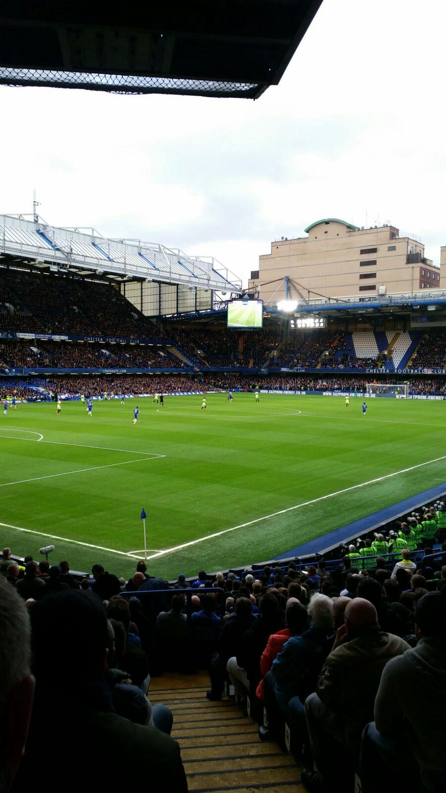 Stamford Bridge Sección Matthew Harding Lower 8 Fila U Asiento 395