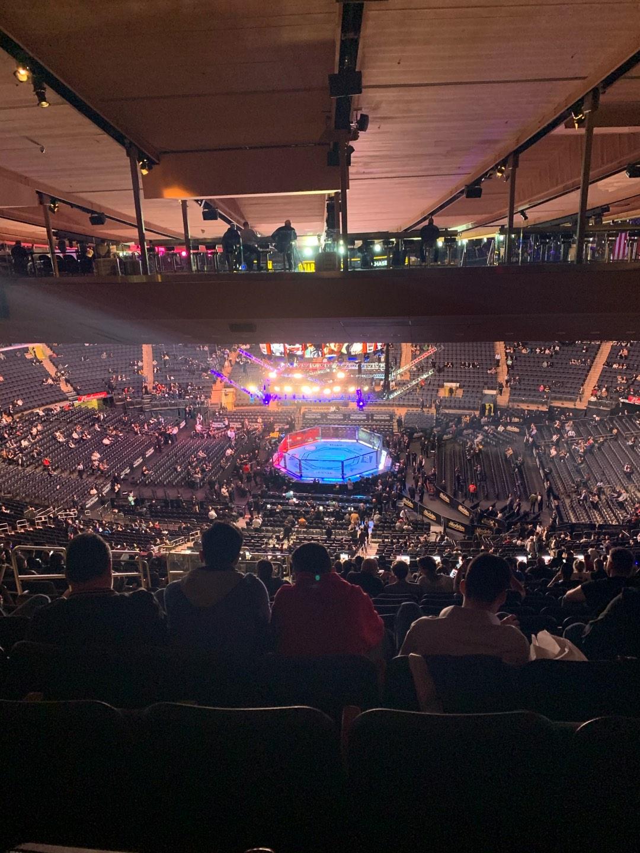 Madison Square Garden Sección 212 Fila 23 Asiento 8