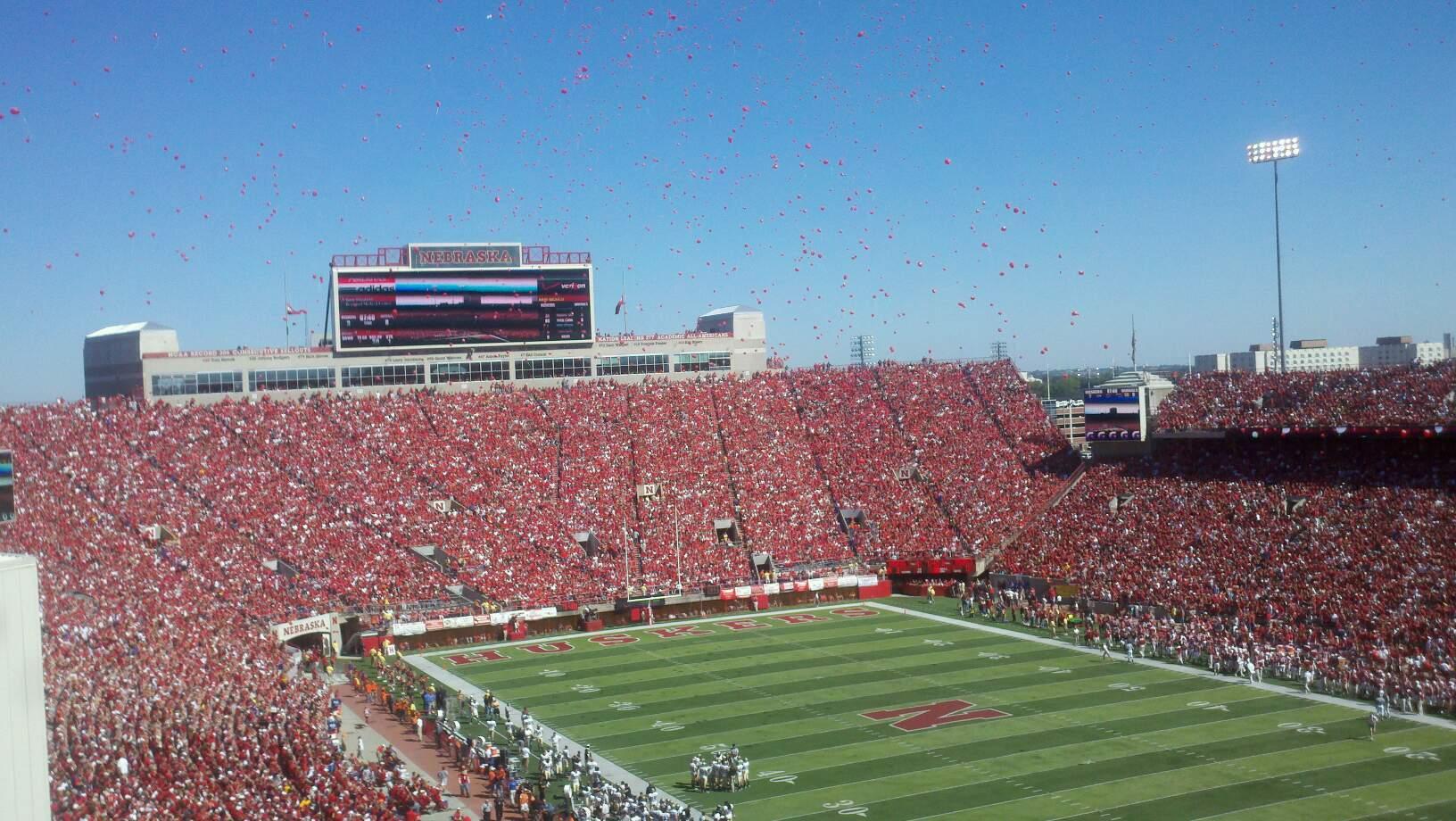 Memorial Stadium (Lincoln) Sección 221