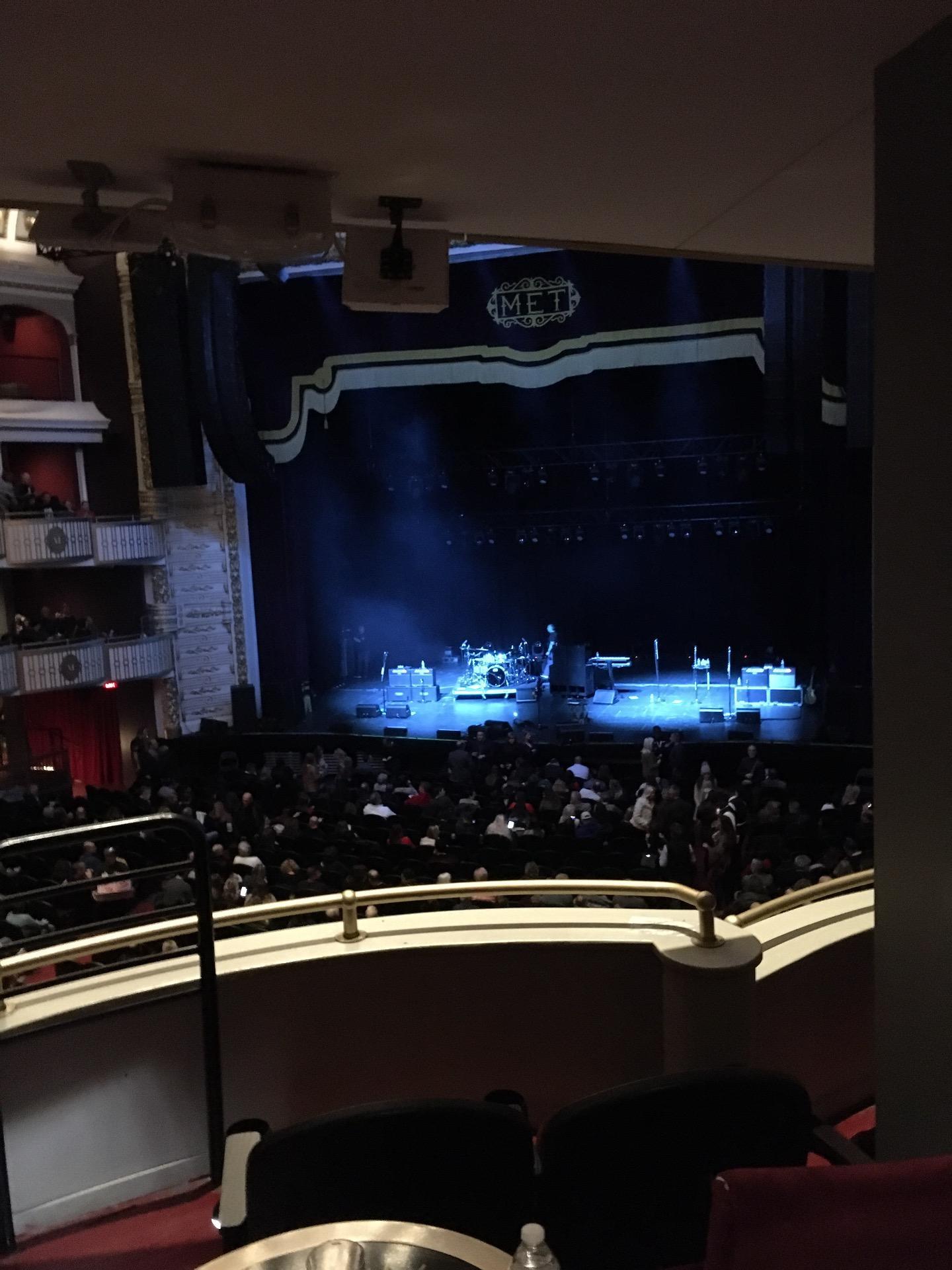 The Met Philadelphia Sección Grand Salle Box 8 Fila C Asiento 3