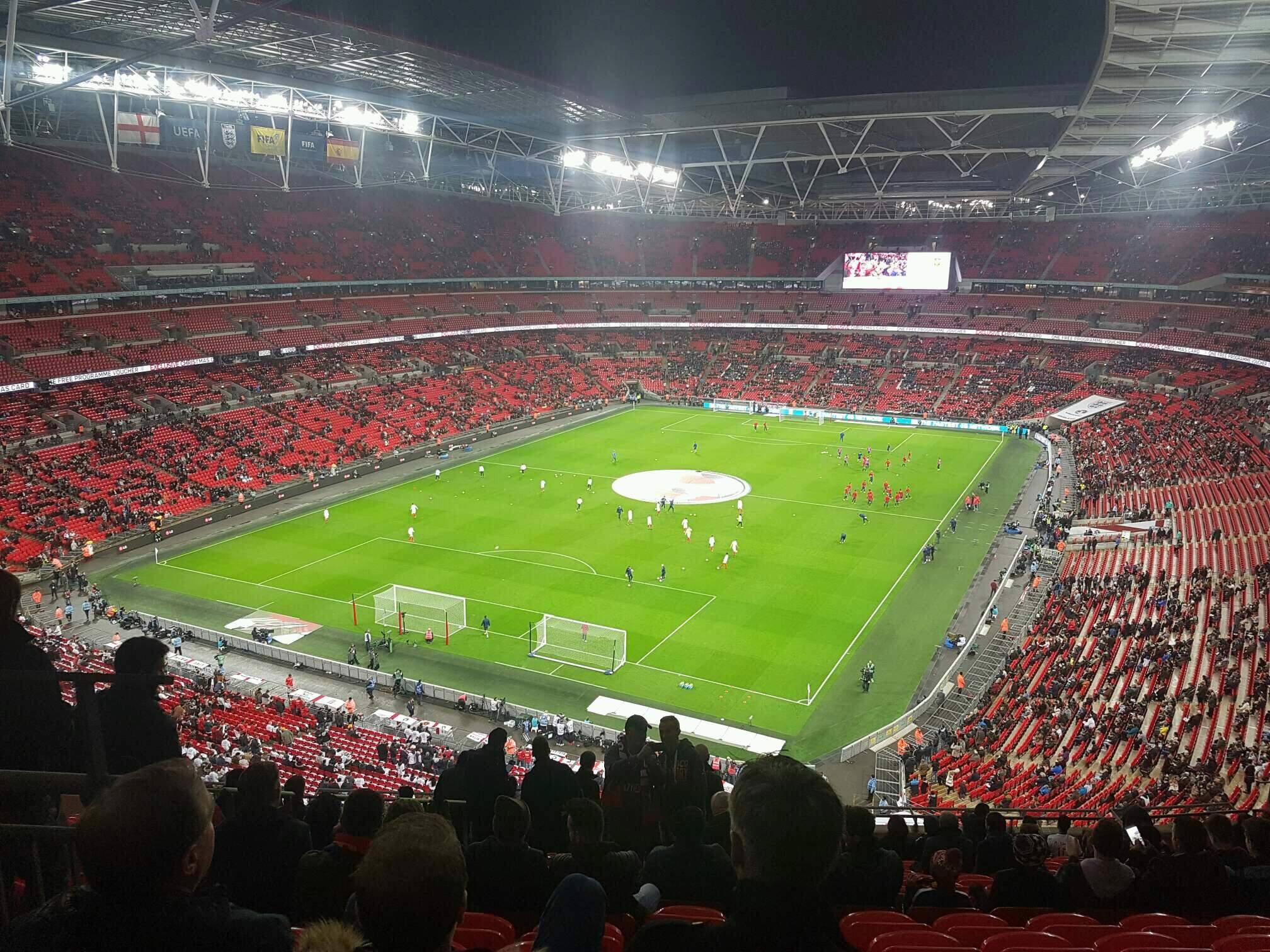 Wembley Stadium Sección 510 Fila 17 Asiento 283