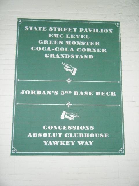 Fenway Park Sección 3rd Base Deck