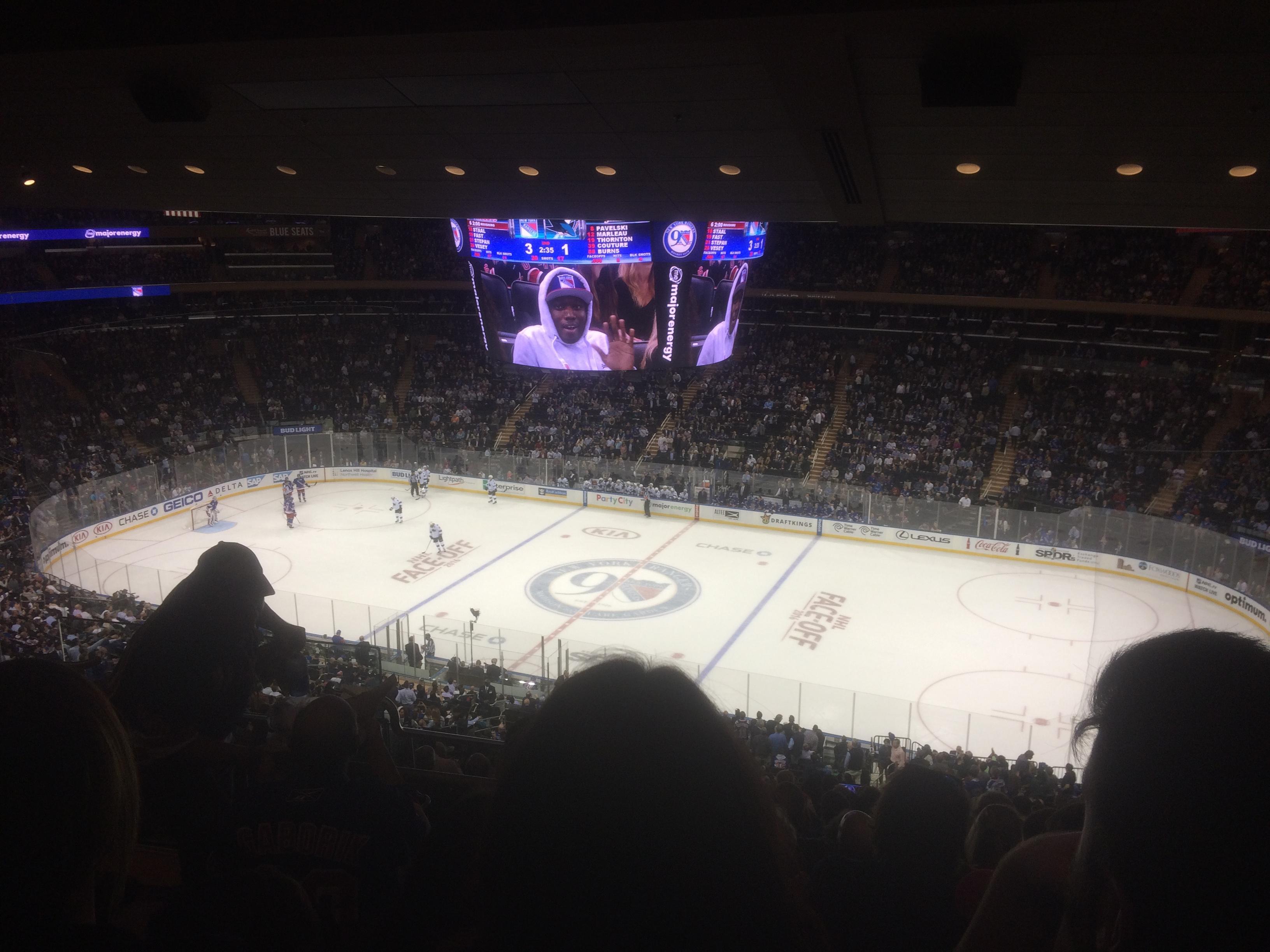 Madison Square Garden Sección 226 Fila 15 Asiento 6