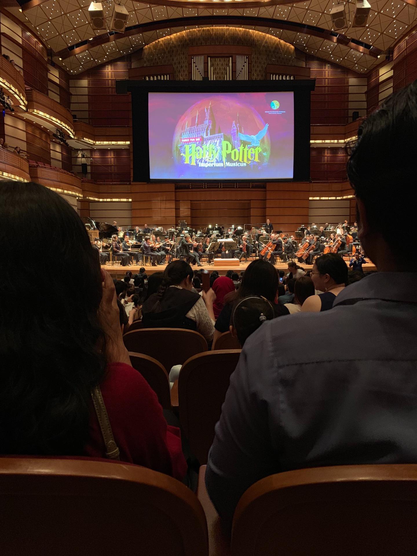 Dewan Filharmonik Petronas Sección Stalls Fila S Asiento 16