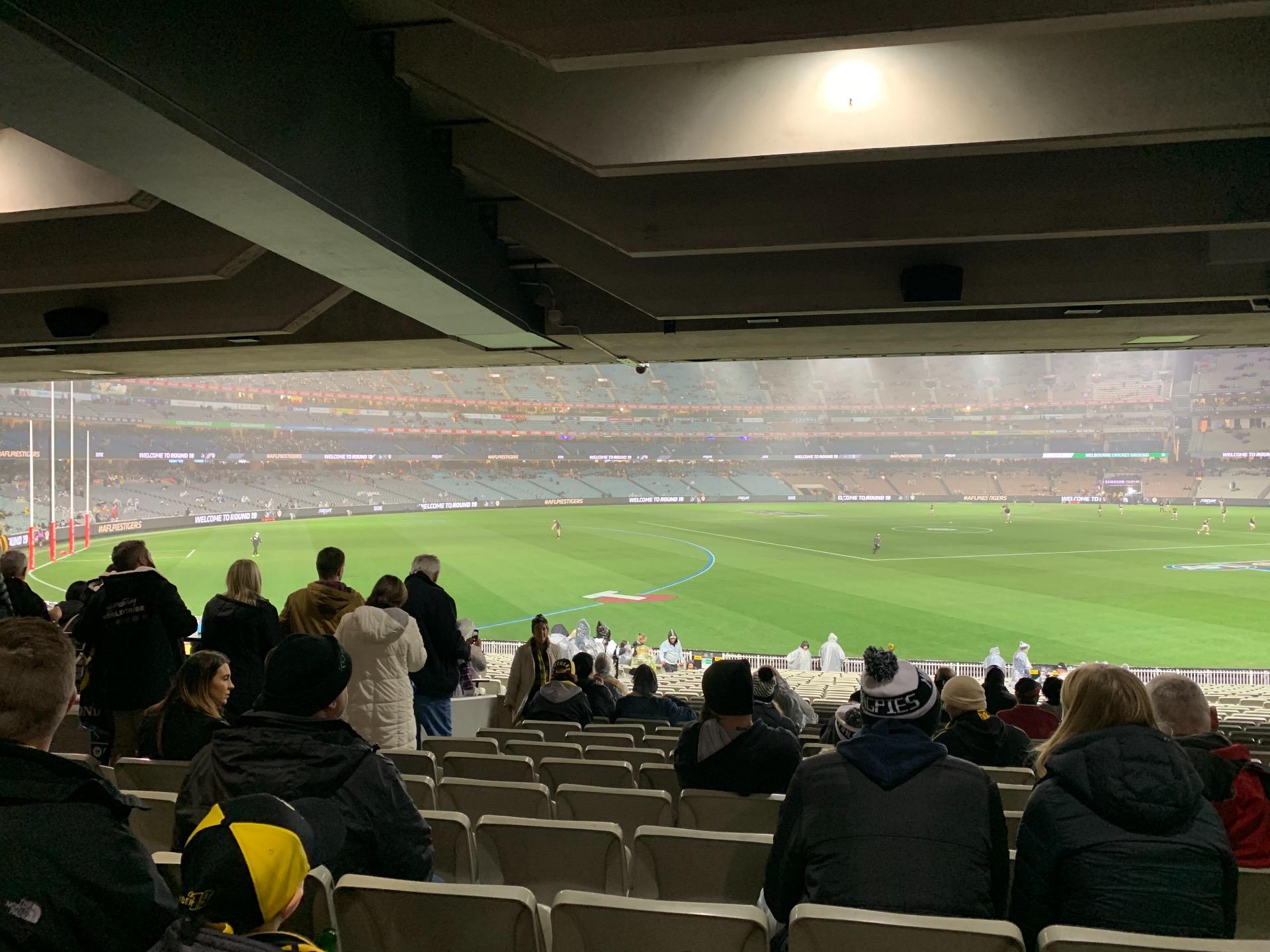 Melbourne Cricket Ground Sección M42 Fila Kk Asiento 11