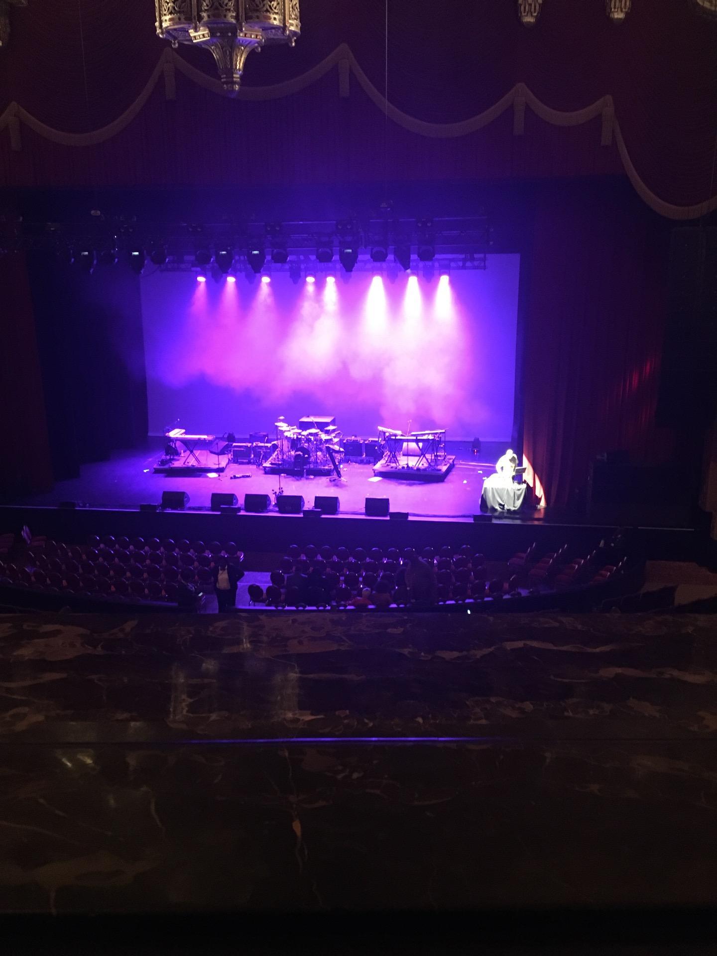 Fox Theatre (Detroit) Sección Mezzanine Fila AA Asiento 502