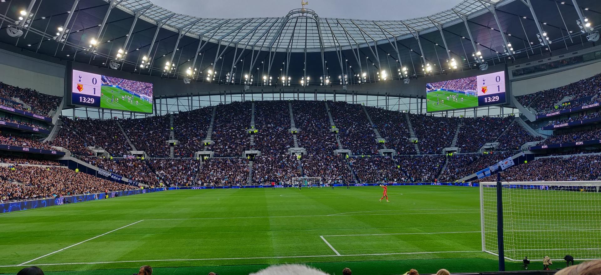 Tottenham Hotspur Stadium Sección 113 Fila 11 Asiento 393