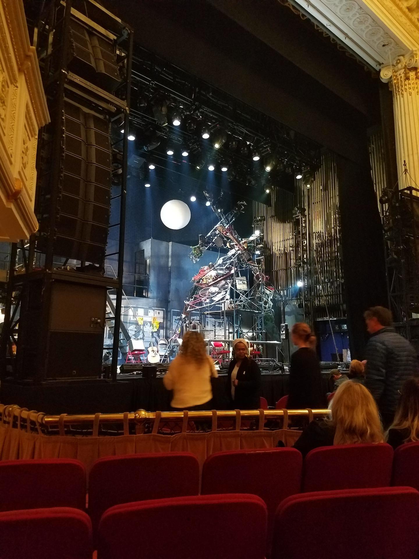Shubert Theatre (Boston) Sección Orchestra Left Fila D Asiento 11