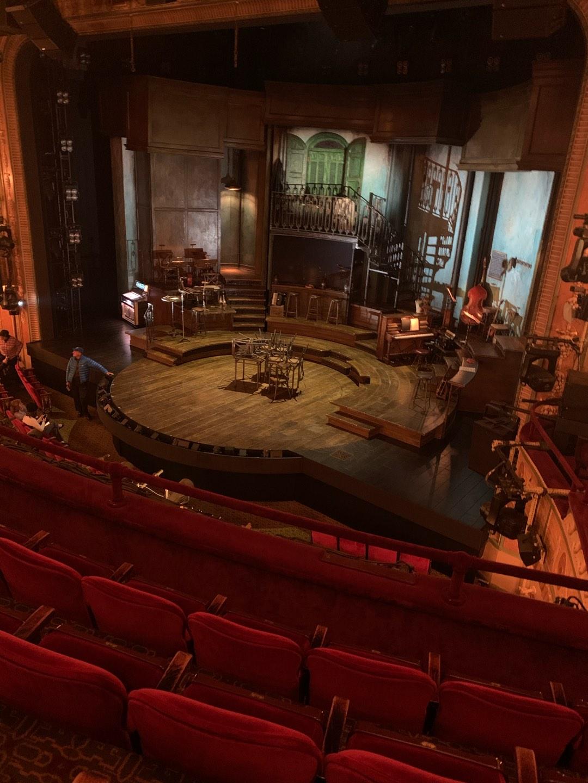 Walter Kerr Theatre Sección Mezzanine R Fila D Asiento 20