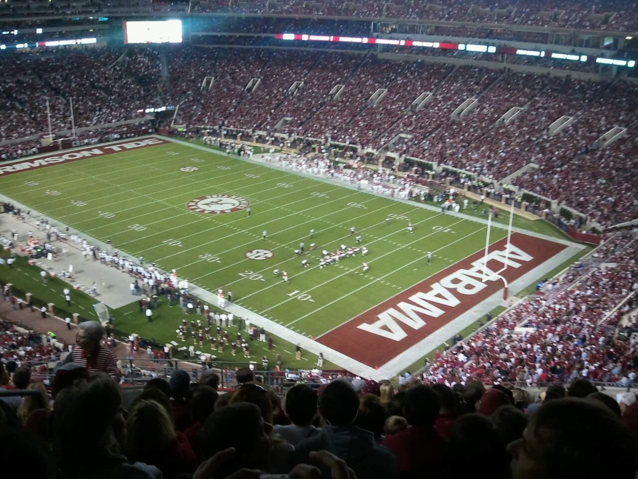 Bryant-Denny Stadium Sección NN-12