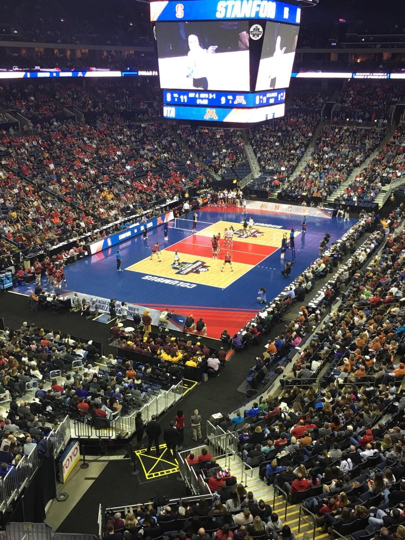 Nationwide Arena Sección 221 Fila C Asiento 9