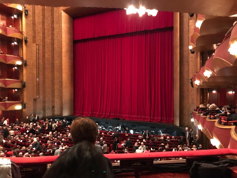 Metropolitan Opera House - Lincoln Center Sección Parterre Box 16 Asiento 7 And 8