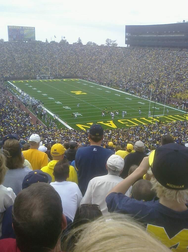 Michigan Stadium Sección 38