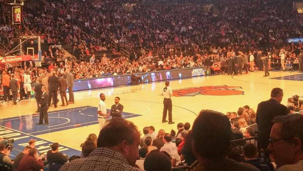 Madison Square Garden,  Sección <strong>101</strong>, Fila <strong>18</strong>, Asiento <strong>17</strong>