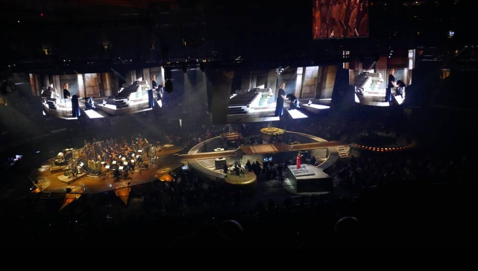 Madison Square Garden,  Sección <strong>122</strong>, Fila <strong>X</strong>, Asiento <strong>9</strong>