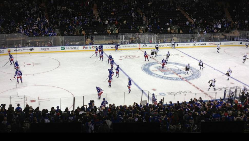 Madison Square Garden,  Sección <strong>120</strong>, Fila <strong>1</strong>, Asiento <strong>6</strong>