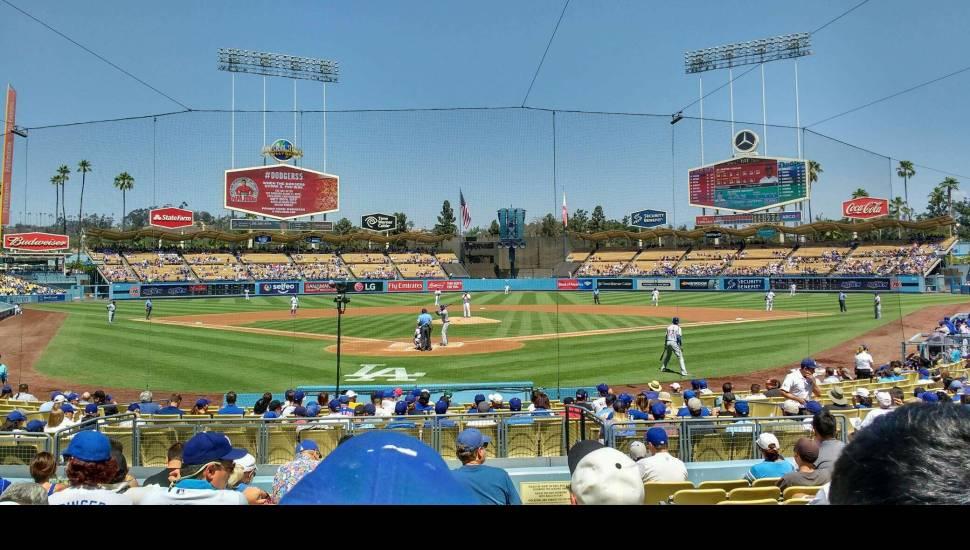 Dodger Stadium,  Sección <strong>PR3</strong>, Fila <strong>4</strong>, Asiento <strong>12</strong>