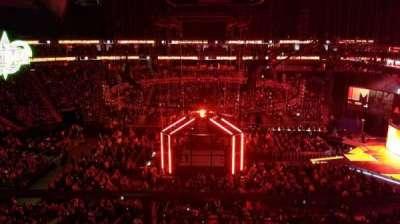T-Mobile Arena, sección: 223, fila: A, asiento: 12