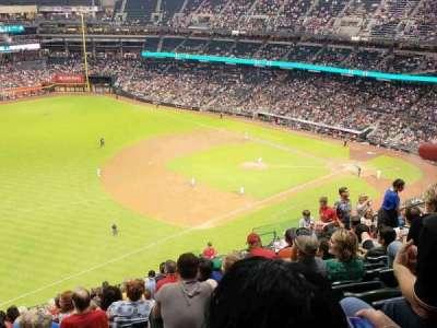Chase Field, sección: 327, fila: 20, asiento: 15