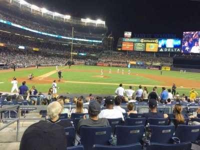 Yankee Stadium sección 117A