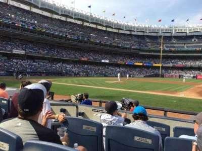 Yankee Stadium sección 015A