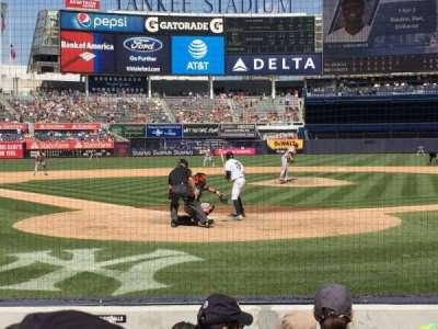 Yankee Stadium sección 019