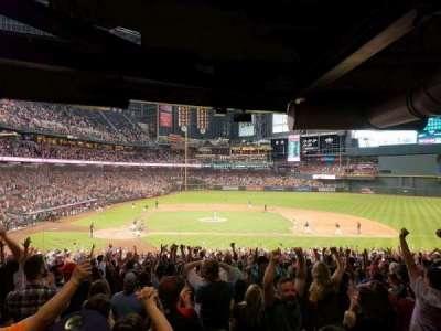Chase Field, sección: 117, fila: 39, asiento: 11