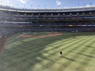 Yankee Stadium, sección: 205, fila: 1, asiento: 12